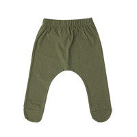 little baby foot baggy: olive <br/>